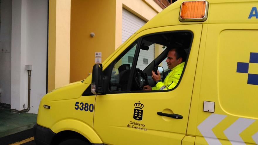 En la imagen, una ambulancia del SUC.
