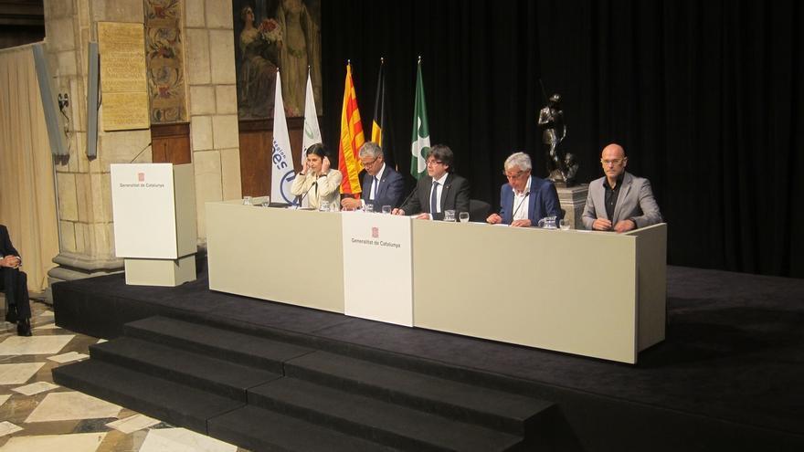 """Puigdemont: """"Cuando un matrimonio no se basa en igualdad lo civilizado es separarse"""""""
