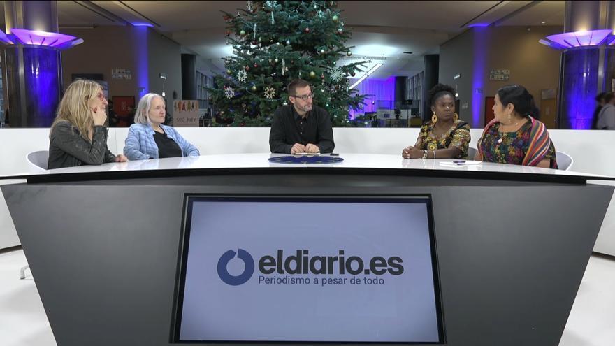 Debate sobre ecofeminismo y extractivismo con las activistas Francia Márquez (Colombia) y Ana Rutilia (Guatemala); la socióloga Saskia Sassen y la eurodiputada de Unidas Podemos María Eugenia Rodríguez Palop.