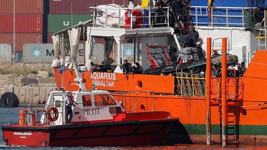 El TS avala la razón humanitaria para acoger a los inmigrantes del Aquarius