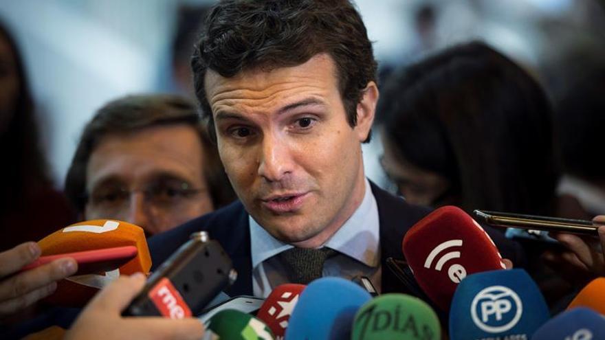 """Casado reprocha la respuesta """"tibia"""" del Gobierno ante situación en Venezuela"""