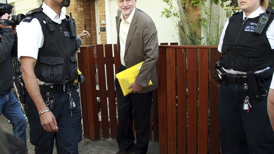 Corbyn dispuesto a hablar con los opositores a su liderazgo en el Partido Laborista