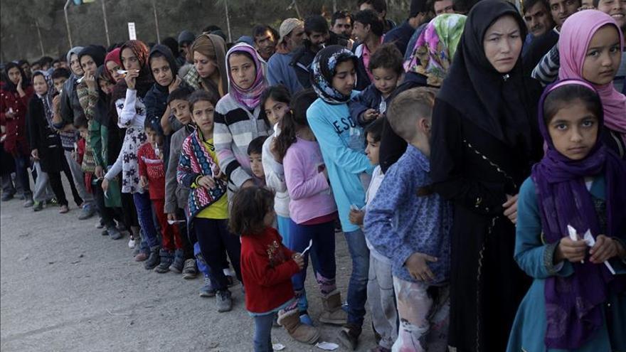 La ONU pide a los europeos que no se retracten de la promesa de recibir refugiados sirios