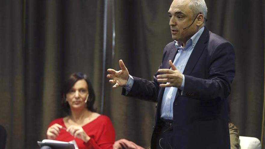 Rafael Simancas dice que 15.000 militantes apoyan a Pedro Sánchez en Madrid