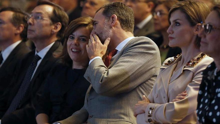 El 57,4 por ciento de los españoles respalda la forma de actuar de Felipe VI