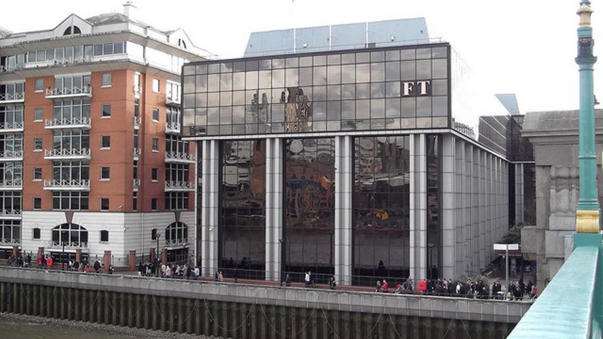 Edificio del periódico británico Financial Times.