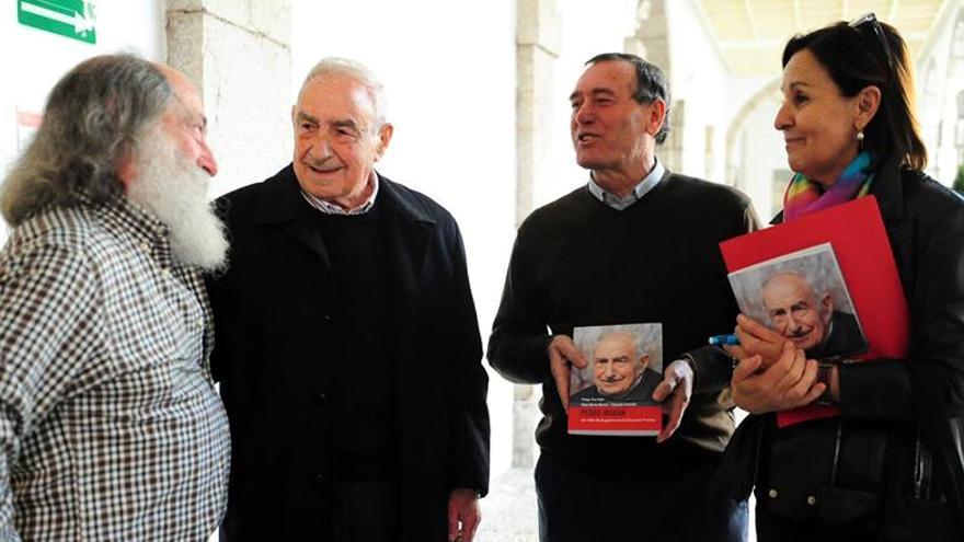 Pedro Morán contó recientemente su experiencia en el Parlamento de Cantabria.