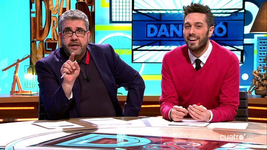 Dani y Flo en su estreno en Cuatro