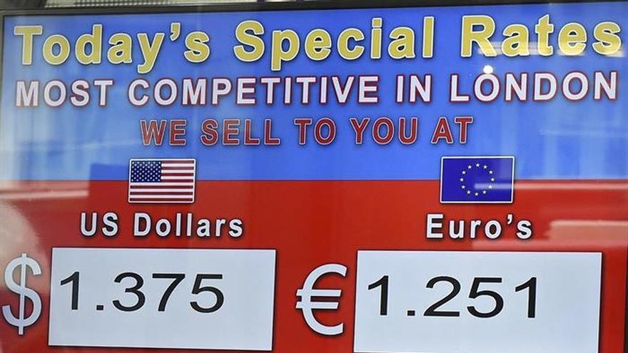 El euro se mantiene en 1,1215 dólares