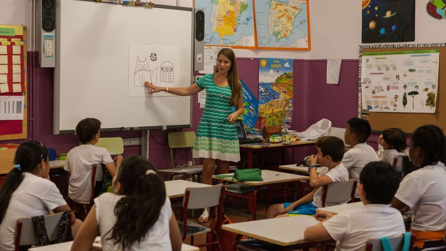 Taller piloto de la fundación Al Fanar en varios colegios de Madrid.