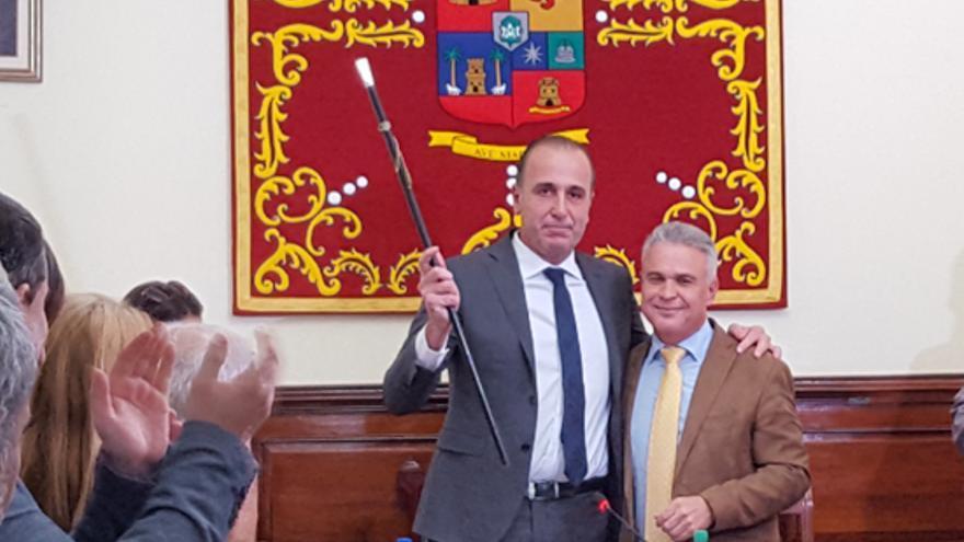 José Luis Báez (PP), nuevo alcalde de Teror