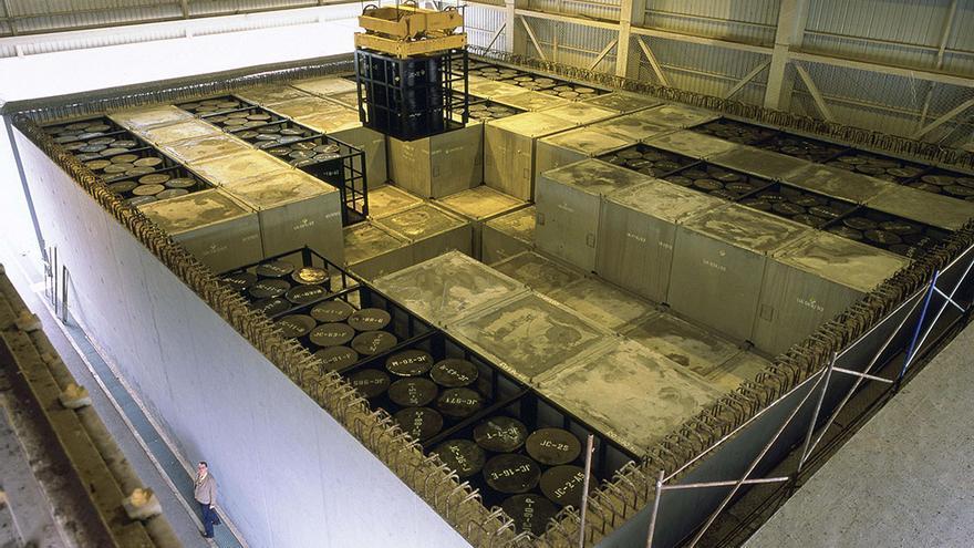 Interior de una de las celdas de almacenamiento de El Cabril | MADERO CUBERO