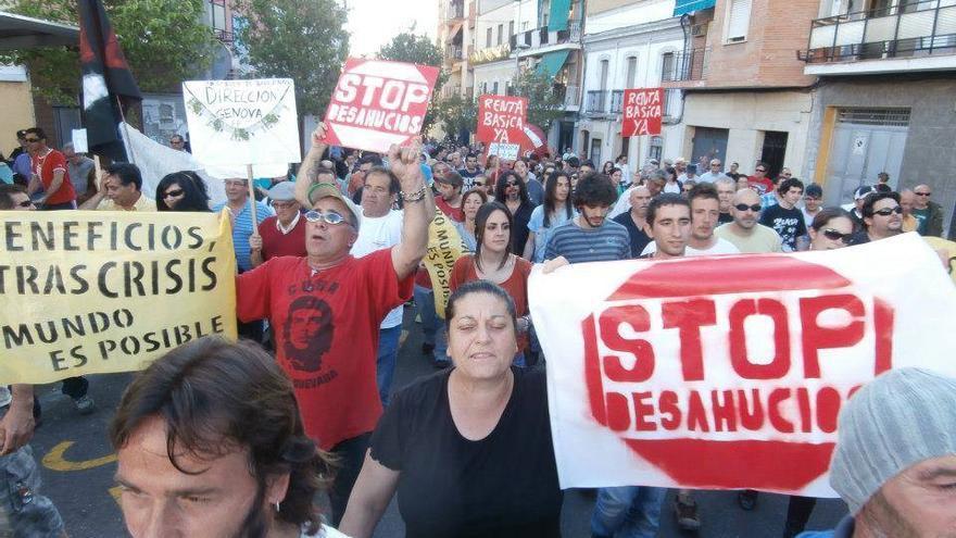Concentración en Mérida pidiendo pan, trabajo y techo / Campamento Dignidad