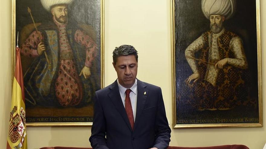 "Albiol irrita a Puigdemont al acusarlo de ""indiferencia"" ante visita de Otegi"