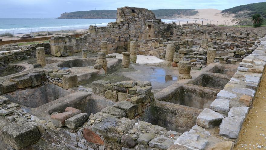 Restos de la ciudad romana de Baelo Claudia. Carole Raddato (CC)