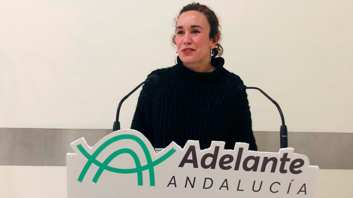 La parlamentaria de Adelante por Córdoba, Ana Naranjo.