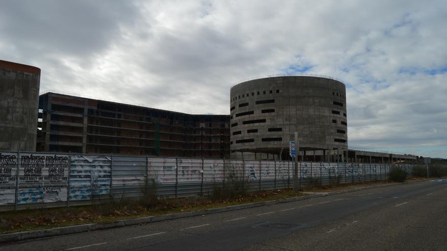 Obras del nuevo hospital de Toledo / Foto; Javier Robla