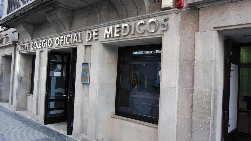 Sede del Colegio de Médicos de Las Palmas en la capital grancanaria