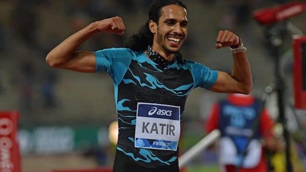 El atleta muleño Mo Katir