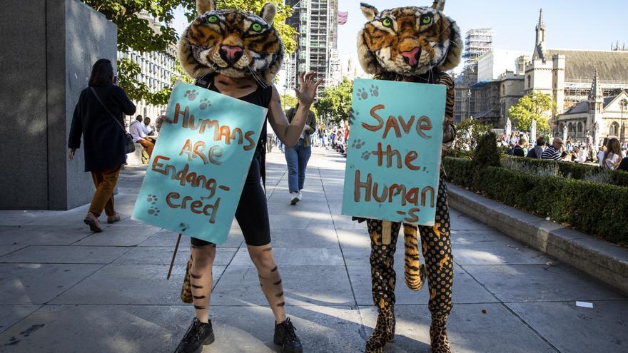 Manifestación en Londres por la justicia climática © Amnesty International