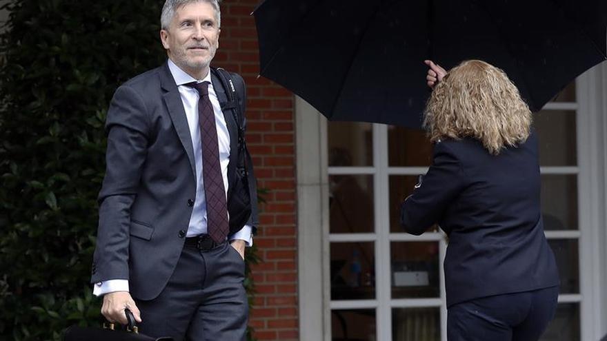 Marlaska: Si el juez decide trasladar a los presos del procés, se estudiaría
