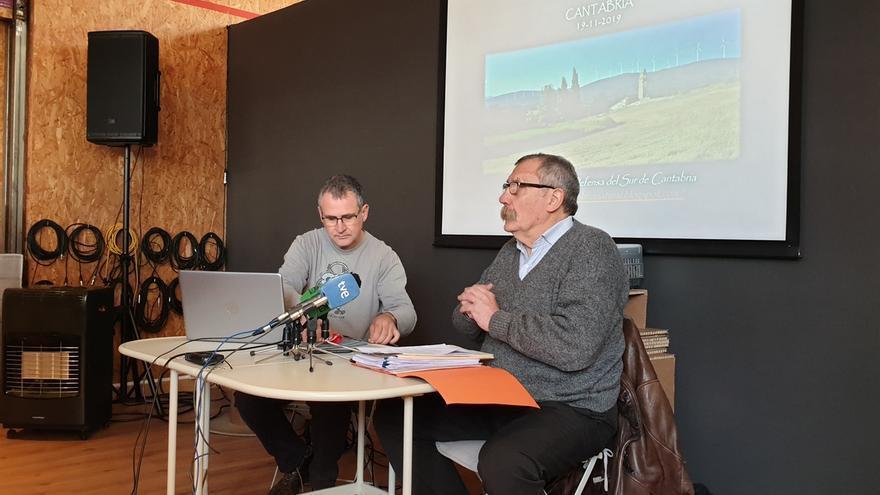 La Plataforma del Sur de Cantabria exige la nulidad de todos los expedientes eólicos en trámite