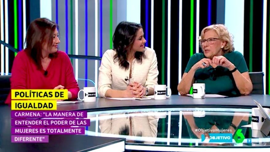 """La petición de Carmena a las políticas: """"Olvidad los partidos, lo importante es saber cuál es la causa de que sigan matando a mujeres"""""""