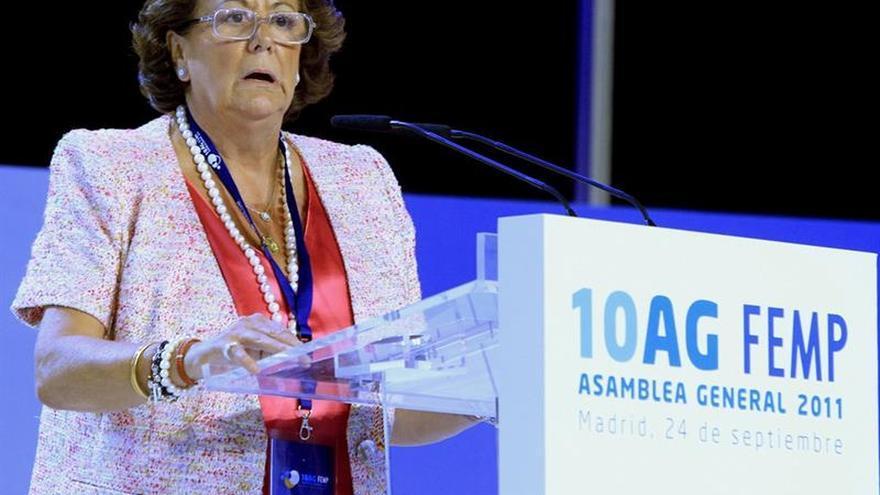 Rajoy presidirá hoy en Madrid un acto de homenaje de la FEMP a Rita Barberá