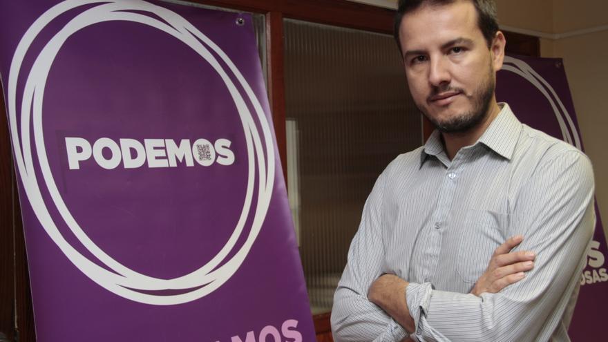 Carlos Meca, secretario general de Podemos en Lanzarote