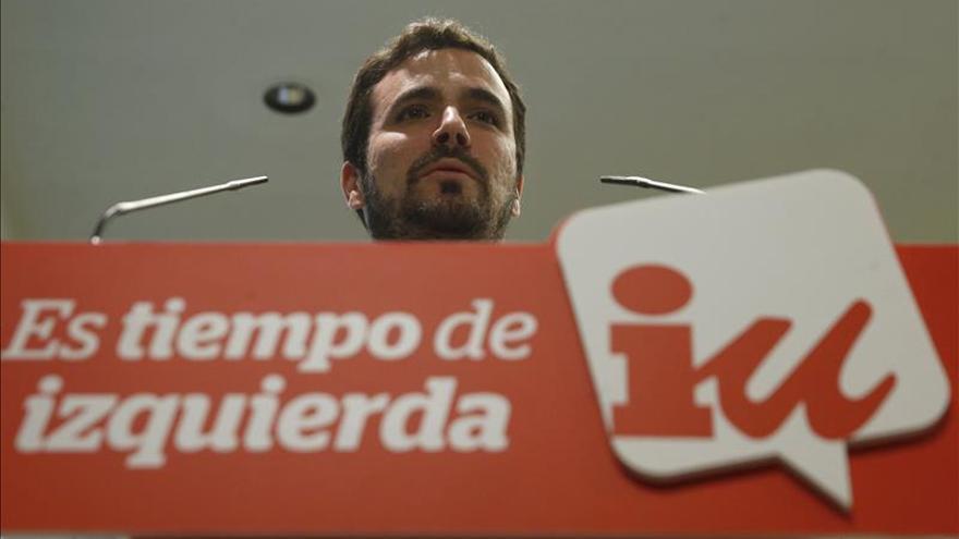 Garzón: España va a enfrentarse a retos de futuro y es mejor hacerlo unidos