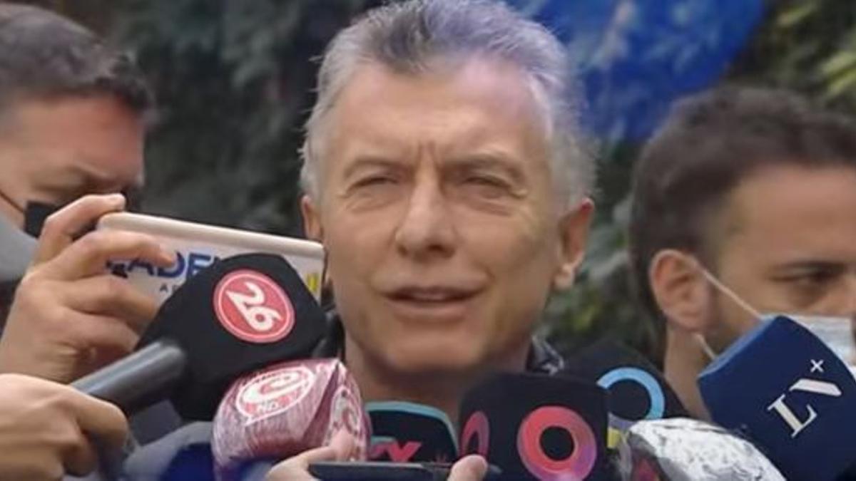 Macri votó en una escuela de Palermo