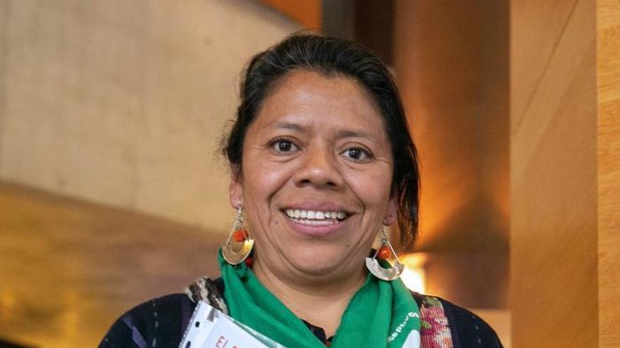 """Lolita Chávez: """"Los territorios, como nuestro cuerpo, no son propiedad"""""""