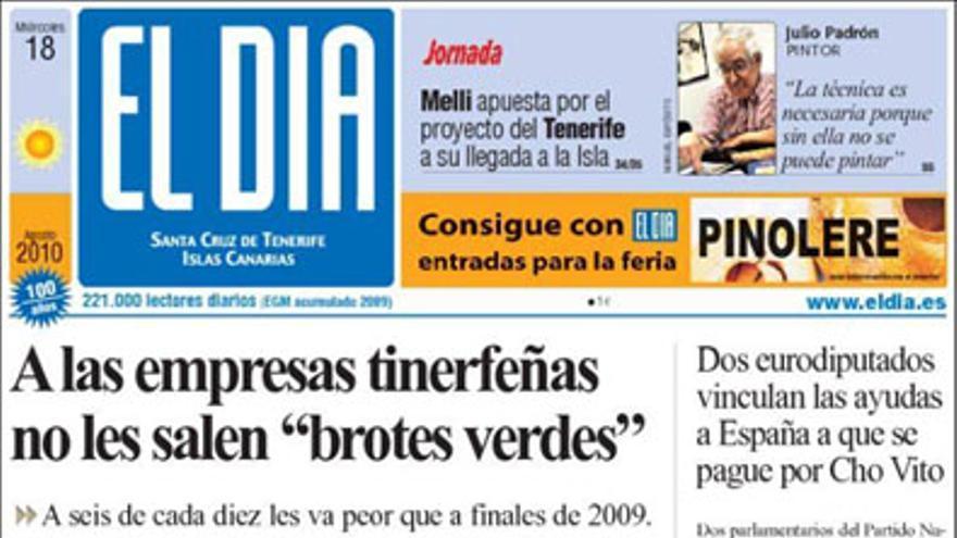 De las portadas del día (18/08/2010) #4