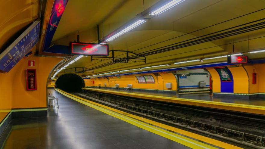 Estación de Bilbao de la línea 4 de Metro