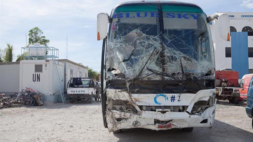 Se eleva a 38 el número de muertos por un accidente en el norte de HaitíHAITÍ