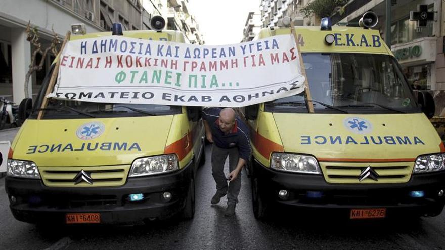 Larga espera para radioterapias en Grecia por falta de aparatos y personal