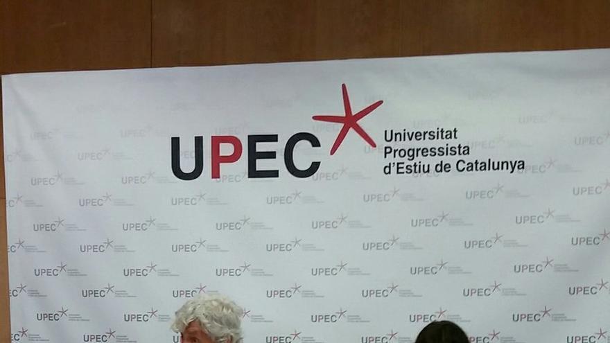 Xosé Manuel Beiras en la cloenda de la 13ª edició de la UPEC