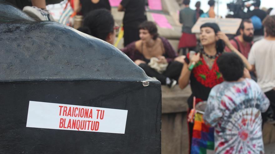 Conmemoración de la Resistencia Indígena. Barcelona, 12 de octubre de 2019