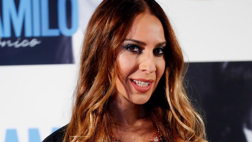 Mónica Naranjo, en el acto de Camilo Sesto
