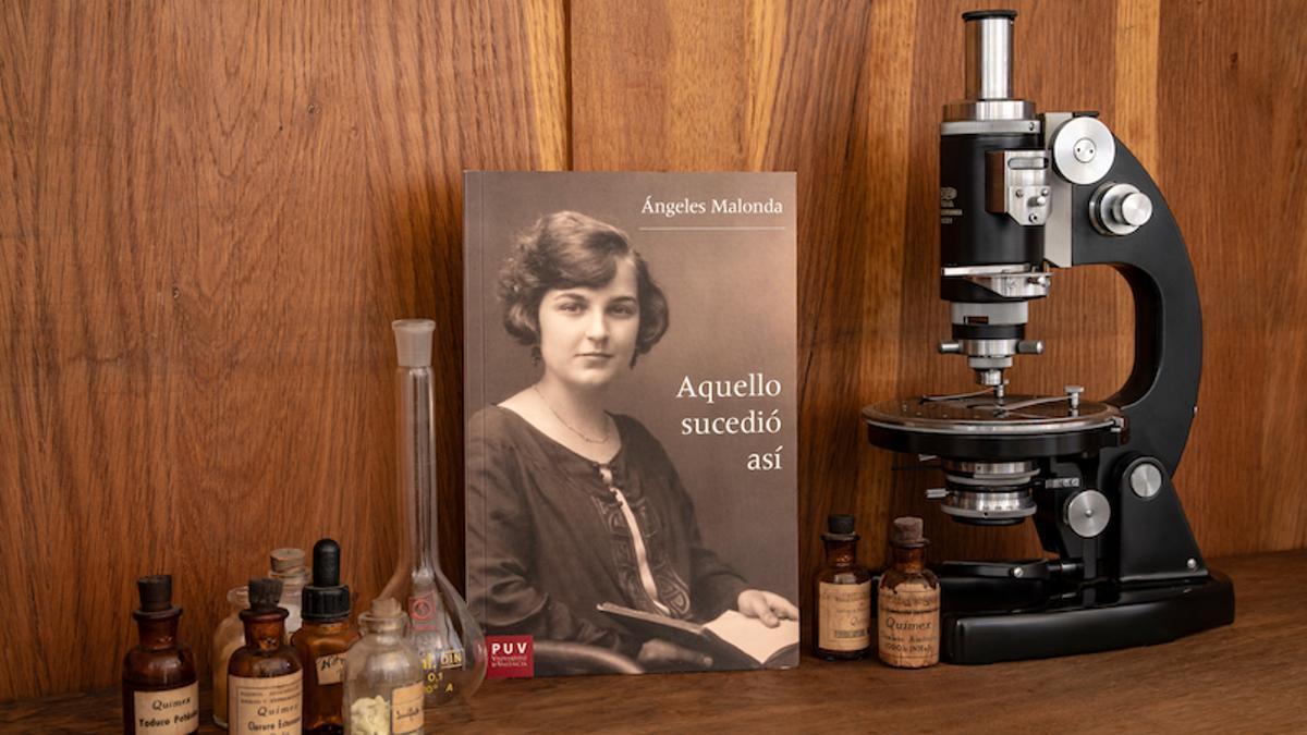 Les memòries escrites per Ángeles Malonda.