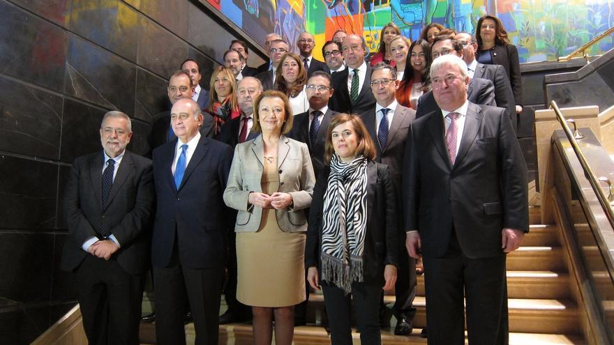 """Santamaría y Rudi subrayan el """"clima de colaboración"""" entre Aragón y el Ejecutivo central"""