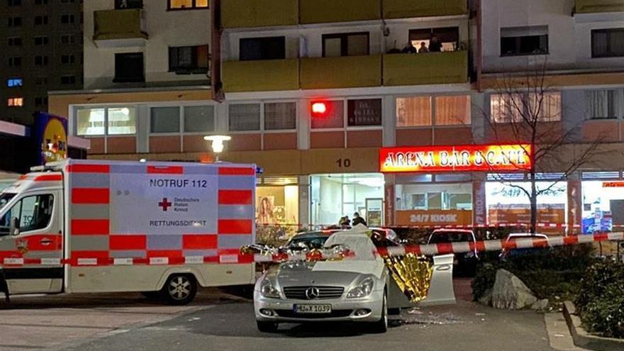 Varios muertos en dos tiroteos en la ciudad alemana de Hanau