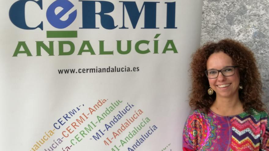 La presidenta de CERMI Andalucía, Marta Castillo