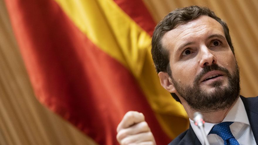 Pablo Casado conoció la inhabilitación de Junqueras antes de que terminase la reunión de la Junta Electoral