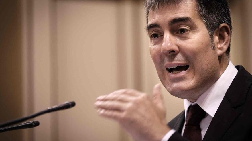 """El presidente de Canarias, Fernando Clavijo: """"La convocatoria de nuevas elecciones sería un fracaso colectivo"""""""