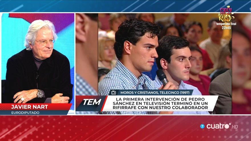 'Todo es mentira' recuerda la primera intervención de Pedro Sánchez