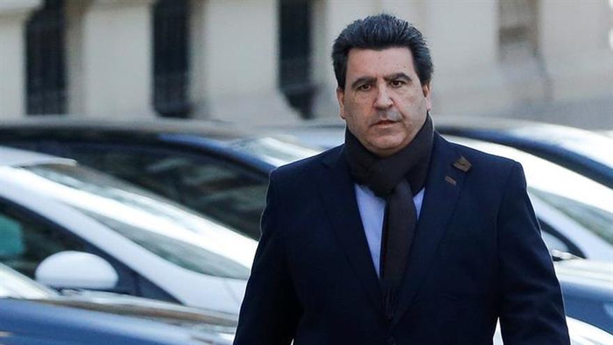 David Marjaliza, socio de Francisco Granados, implicado en el caso Púnica, llega a la Audiencia Nacional.