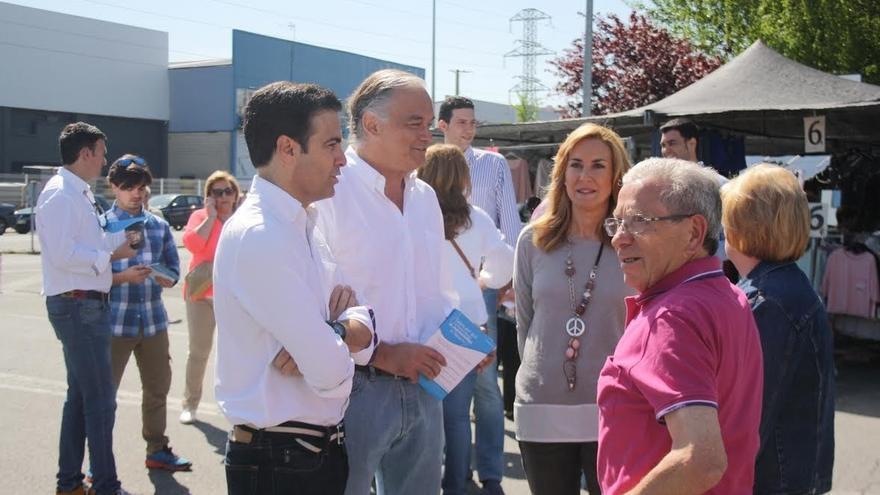 """González Pons dice que """"lo peor que le podría ocurrir a Navarra es un gobierno de extrema izquierda de corte Bildu"""""""