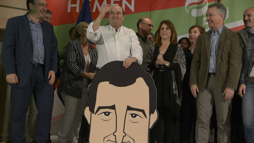 PNV arrebata el primer puesto a Unidas Podemos y gana en Euskadi con seis diputados, seguido de PSE con cuatro