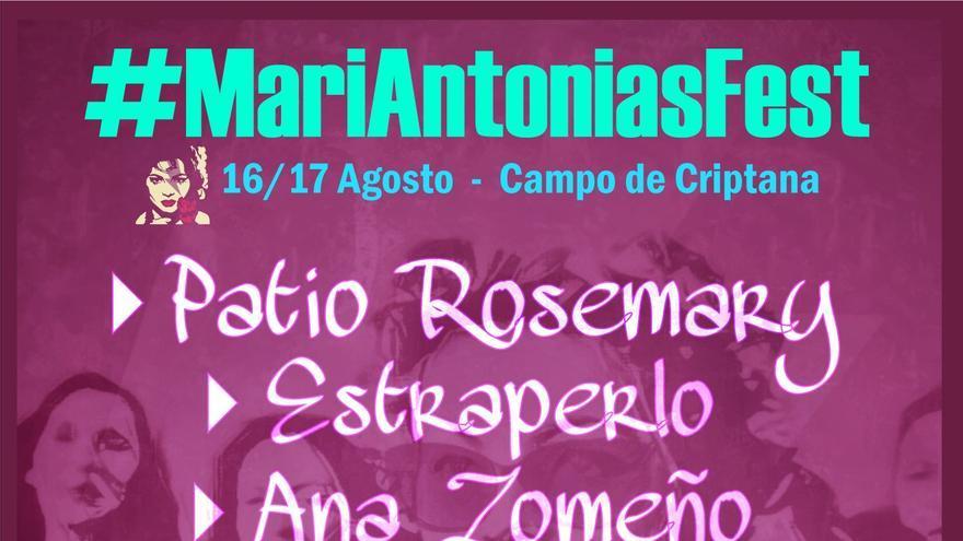 Cartel MariAntonias Fest 2019